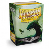 Протекторы Dragon Shield матовые Emerald - Изумруд (100 шт.)