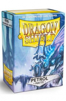 Протекторы Dragon Shield Petrol матовые (100 шт.)